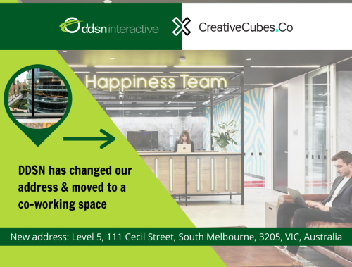 DDSN is moving to Creative Cubes
