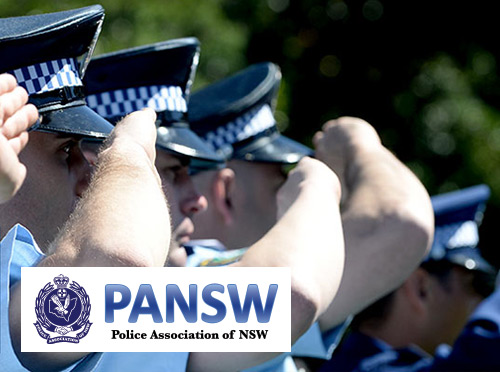 Screenshot ofPolice Association of NSW