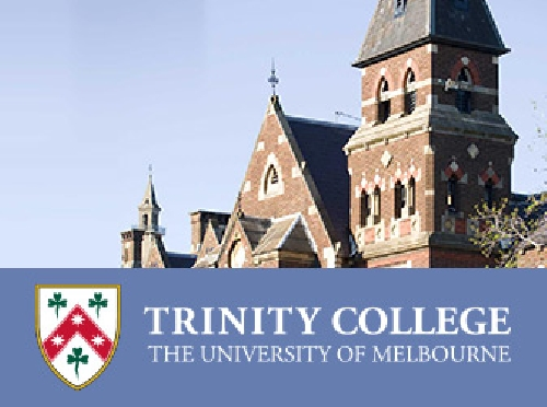 Screenshot ofTrinity College Website