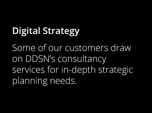 Screenshot ofDigital Strategy Consultation