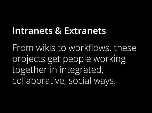 Screenshot ofIntranet & Extranet Projects
