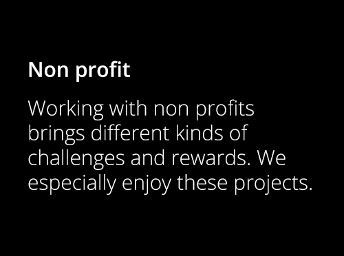 Screenshot ofProjects for Non Profits