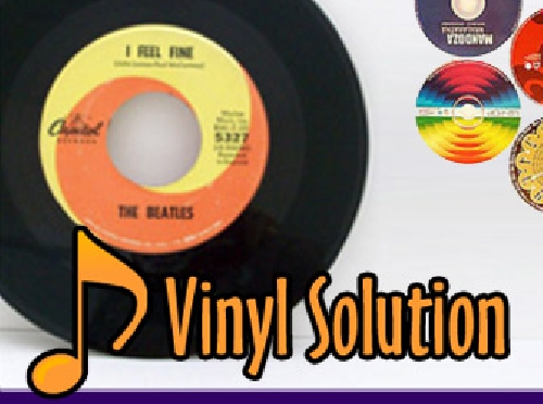 Screenshot ofVinyl Solution Rare & Precious Records
